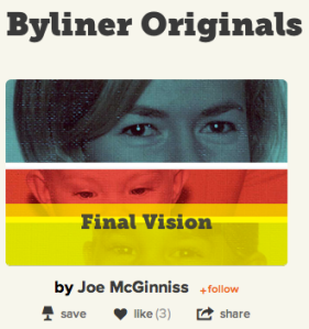 The New York Times is launching a new e-book program in collaboration with digital start-up Byliner