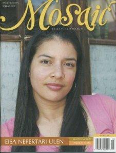 Eisa Ulen on the cover of Mosaic Literary Magazine