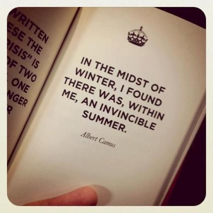 Albert Camus quote - peoplewhowrite