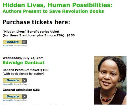 Edwidge Danticat to help save Revolution Books_peoplewhowrite