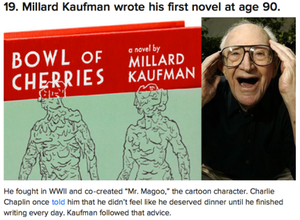 Millard Kaufman was 90 when he wrote his first novel_peoplewhowrite