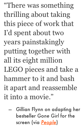 Gillian Flynn on adapting Gone Girl for the screen_peoplewhowrite