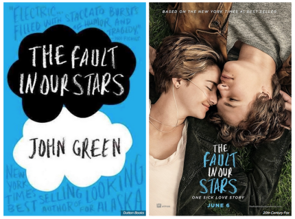 The Fault in Our Stars by John Green has been adapted into a movie_peoplewhowrite
