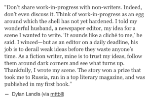 dylan landis writing advice_peoplewhowrite