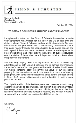 Simon and Schuster Agreement with Amazon_peoplewhowrite