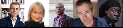 2015 Windham Campbell Prizewinners-Edmund de Waal-Helen Hedmondson-Teju Cole-Geoff Dyer-Debbie Tucker Green_peoplewhowrite