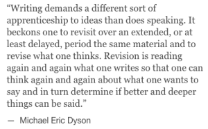 Michael Eric Dyson on writing_peoplewhowrite