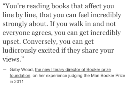 quote from Gaby Wood Man Booker Prize literary director director on judging prizes_peoplewhowrite