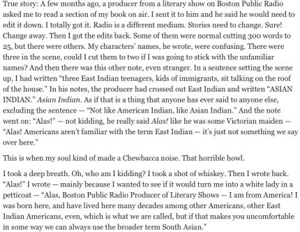 Mira Jacob on race and writing_peoplewhowrite