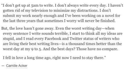 Camille Acker on why we write_peoplewhowrite