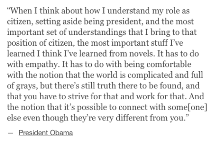 President Obama on novels_peoplewhowrite