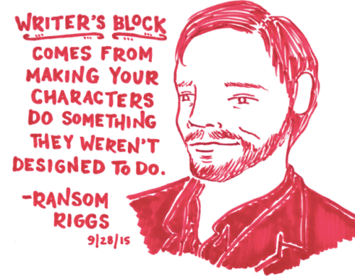 Ransom Riggs on Writer's Block_peoplewhowrite