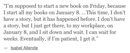 Isabel Allende on her writing process via Lenny newsletter_peoplewhowrite